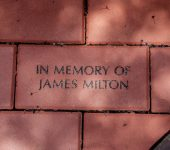 "Brick $250 Located in the Garden of Hope and in the Volunteer Tribute Garden 4"" x 8"""