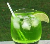 Green Dinosaur Drink