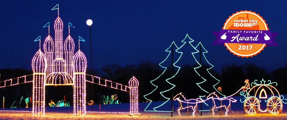 Galaxy Of Lights 2017 Huntsville Botanical Garden